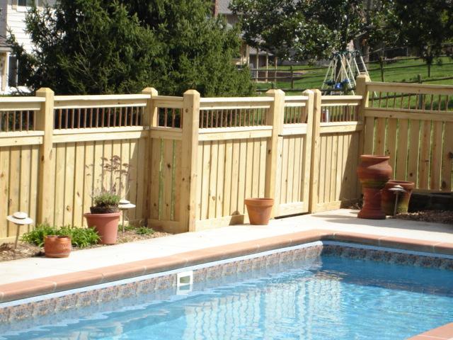 Pool Fence 417 862 5115 W Bar Y Fence Fence