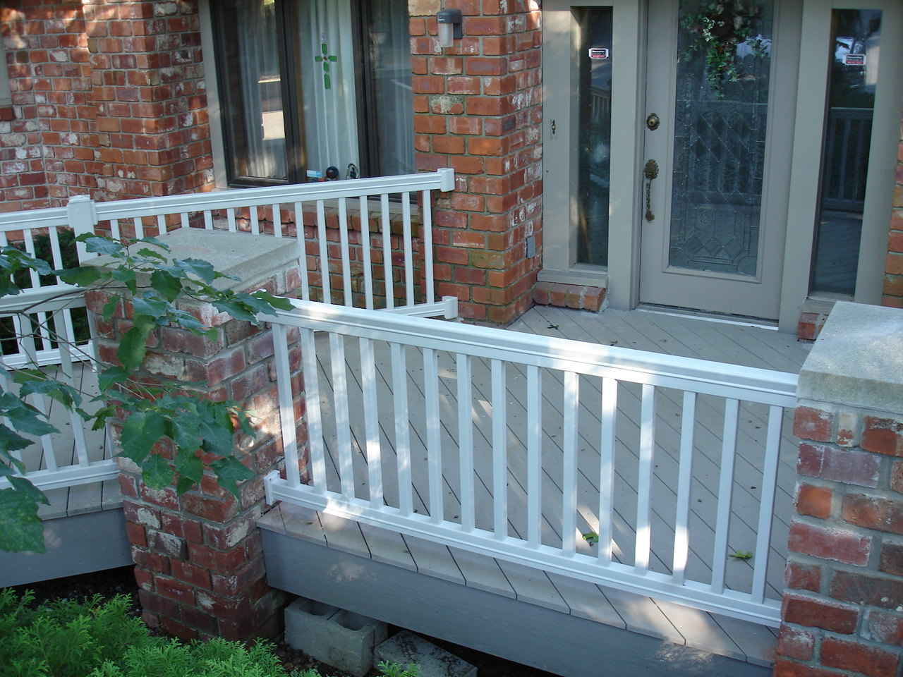 Porch Railing W Bar Y Fence Company