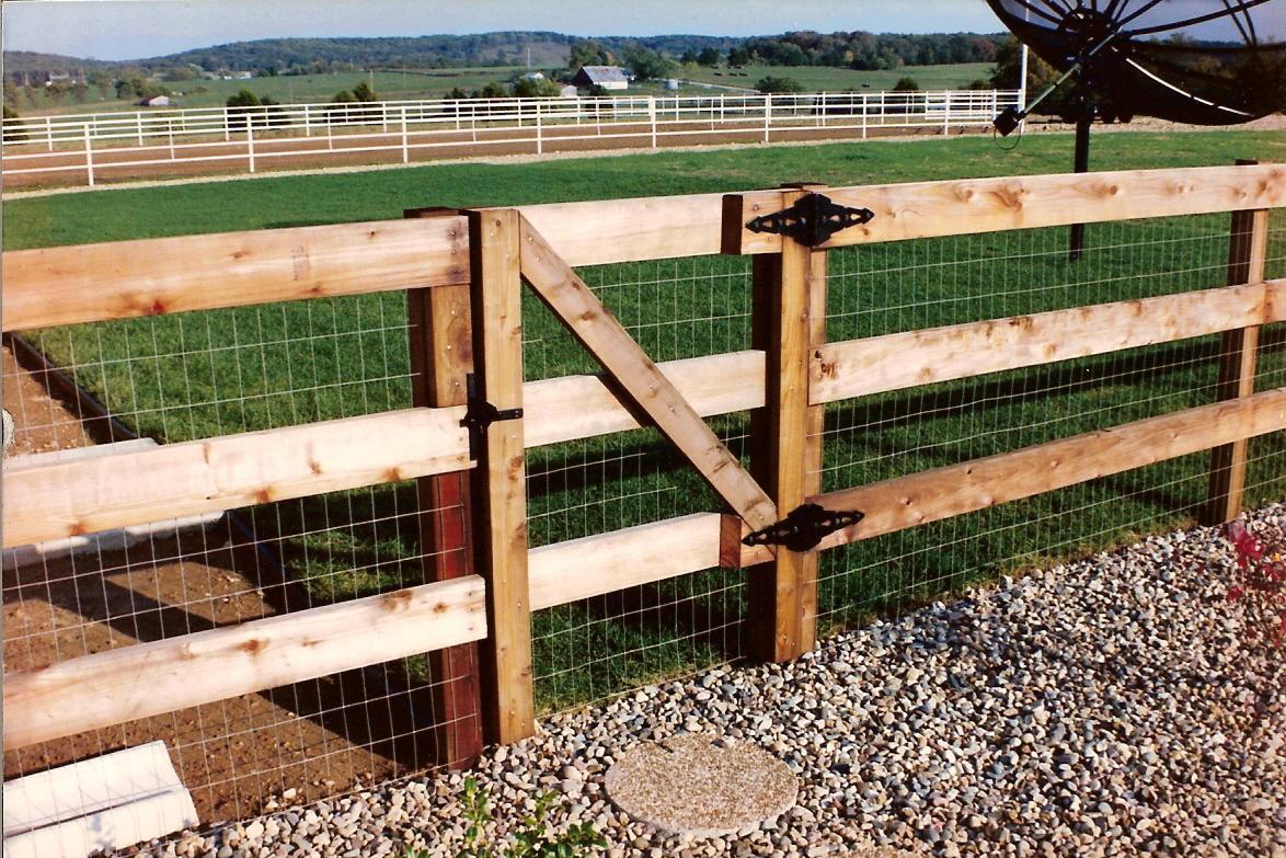 Woven Cedar Fence