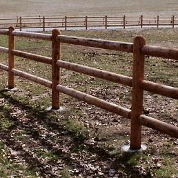 Wood Post and Rail sq